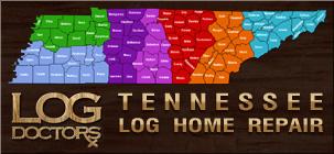 Log Home Restoration Tennessee